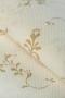 Канва Аида 14 с рисунком, бежевые веточки на белом