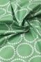 """Ткань """"Pearl Bracelets"""" зеленая"""