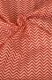 "Ткань ""Stripes Chevron Red"""