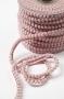 Тесьма с мини-помпонами пепельно-розовая