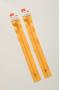 Молния Rizip спираль 22 см, цвет желтый