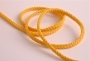Шнур хлопковый желтый, шир. 5 мм