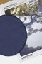 "Готовая форма для обвязывания ""Круг"" синяя"