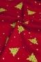 "Ткань ""Purely Christmas"" на красном"