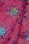 "Ткань батик ""BRILLIANT JEWEL"" цветы на малиновом"