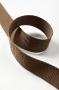 Стропа (ременная лента) ширина 30 мм, цвет коричневый