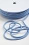 Шнур хлопковый голубой, шир. 5 мм