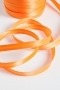 Косая бейка атласная, ширина 12 мм, ярко-орнжевая