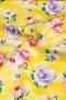 """Ткань """"Annabelle"""" цветы на желтом"""