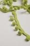 Тесьма-шарики Matsa, светло-зеленая