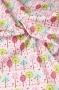 """Ткань """"Summer Song 2"""" деревья на розовом"""