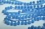 Тесьма-шарики голубая