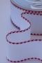 Ленточная канва Safisa с красным, 5 см