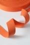 Тесьма ременная PEGA оранжевая, 30 мм