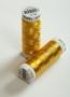 Нить для вышивания металлик, цвет золото (0490)