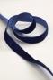 Лента бархатная синяя, ширина 12 мм