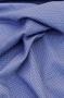 """Ткань поплин """"Горошек на синем"""""""