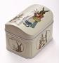 """Коробочка для хранения мелочей """"Пасхальные зайцы"""""""