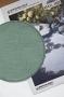"""Готовая форма для обвязывания """"Круг"""" светло-зеленая"""