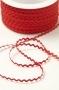 Тесьма мини-вьюнчик, цвет красный