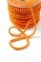 Тесьма с мини-помпонами оранжевая