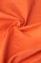 Ткань фланель однотонная оранжевая