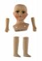 Набор керамический для изготовления куклы