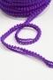 Тесьма с мини-помпонами фиолетовая