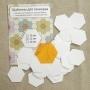 Шаблоны для пэчворка «Бабушкин сад», 22 мм