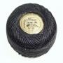 Нить Финка Перле №8, цвет черный
