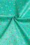 """Ткань """"Amour De Fleur"""" бантики на зеленом"""