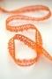 Испанское кружево 12 мм цвет оранжевый