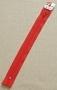 Молния Rizip спираль 22 см, цвет красный