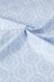 "Ткань ""Chambray Rose"" голубой орнамент"