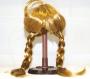 Волосы для куклы, косички, золотистые