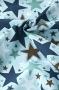 "Ткань хлопковая ""All Star"" на голубом"