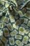 "Ткань ""Herb Garden"" ярлычки на темно-зеленом"