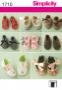 """Выкройки """"Обувь для маленькой принцессы"""""""