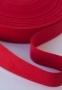Тесьма ременная PEGA красная, 30 мм