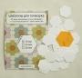 Шаблоны для пэчворка «Бабушкин сад», 16 мм