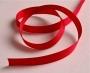 Репсовая лента 12 мм, красная