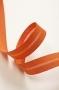 Косая бейка хлопковая, оранжевая