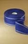 Ленточная канва синяя с серебрянной отделкой, 5 см