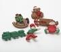 """Декоративные пуговицы """"Christmas Toys"""""""