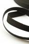 Лента ременная (стропа) черная, 25 мм