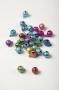Бубенчики цветные 8 мм, обсыпные