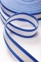 Лента ременная (стропа) бело-голубая