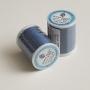 Японские нити для пэчворка темно-голубые