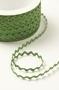 Тесьма мини-вьюнчик, цвет зеленый