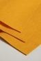 Фетр тонкий вискозный, цвет мягкий оранжевый